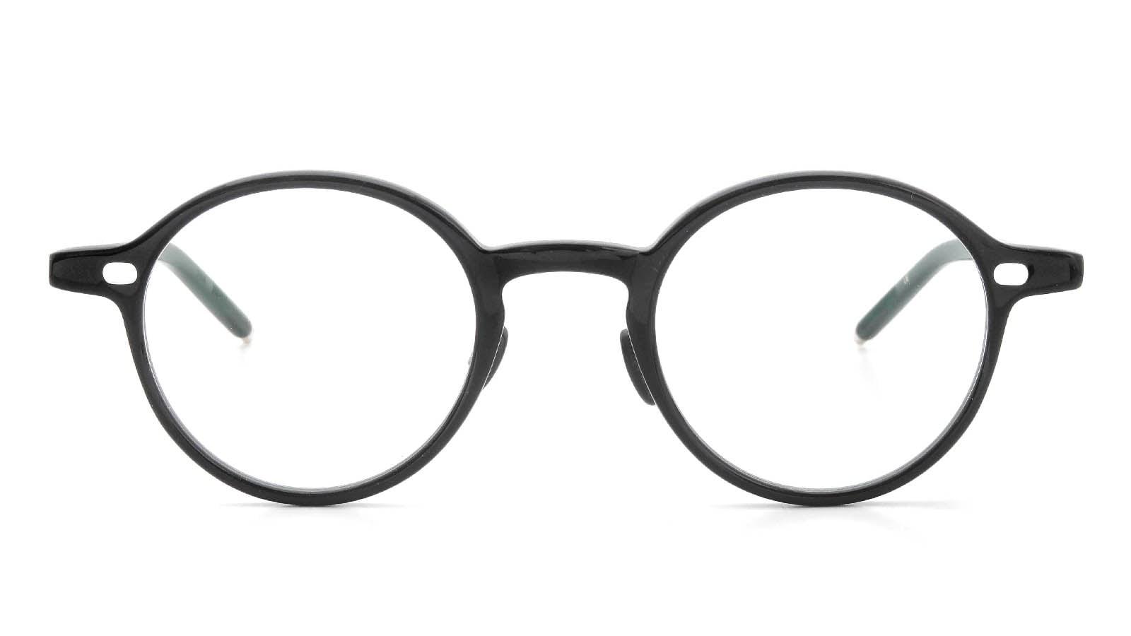 10 eyevan NO.5 Ⅲ 43size  c.1002S Black  正面詳細