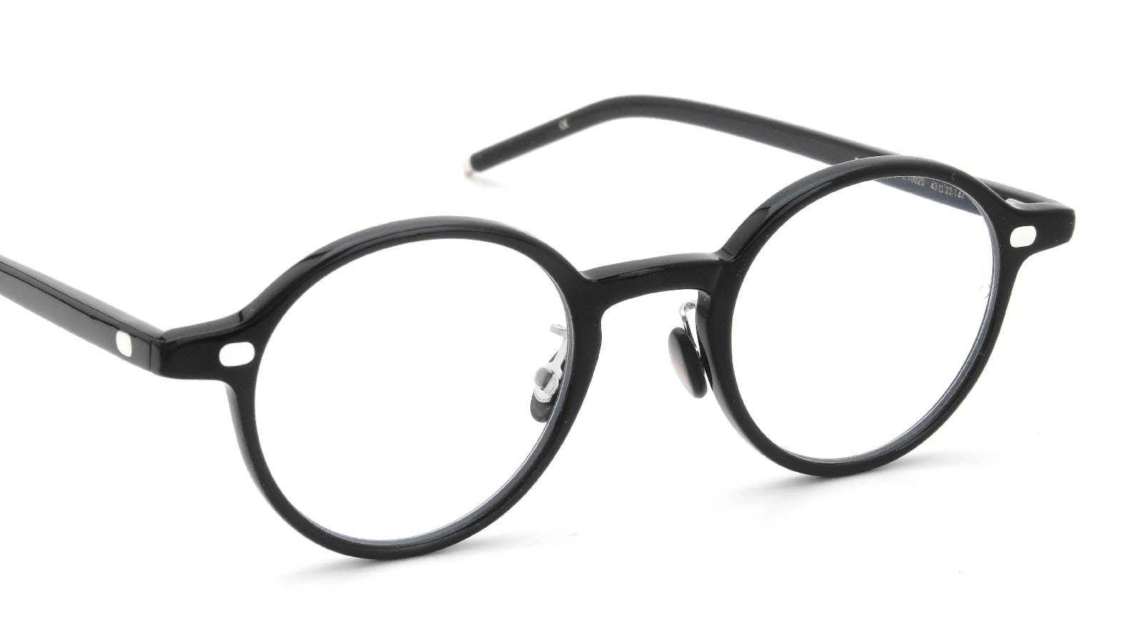 10 eyevan NO.5 Ⅲ 43size  c.1002S Black 6