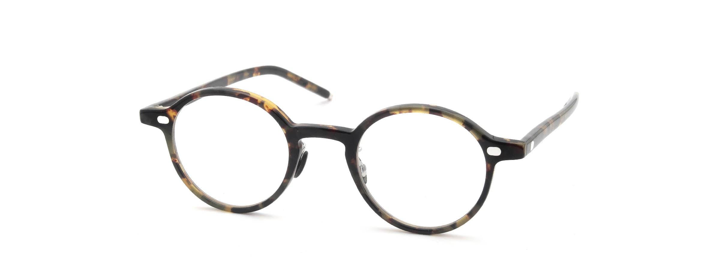 10 eyevan NO.5 Ⅲ 43size  c.1005S Havana全体像