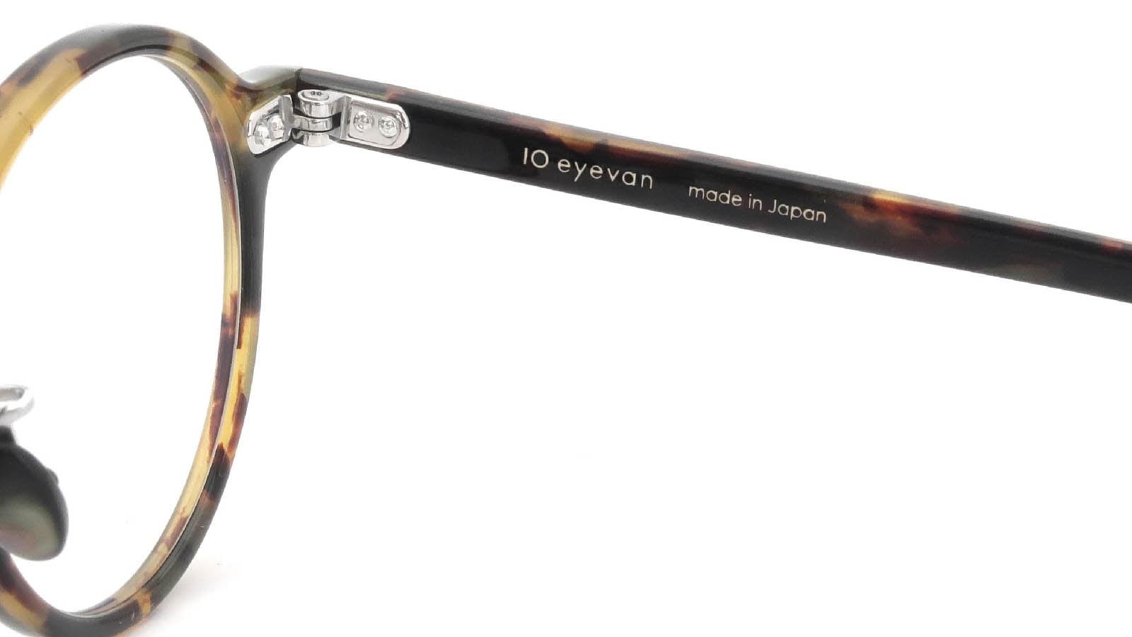 10 eyevan NO.5 Ⅲ 43size  c.1005S Havana 11