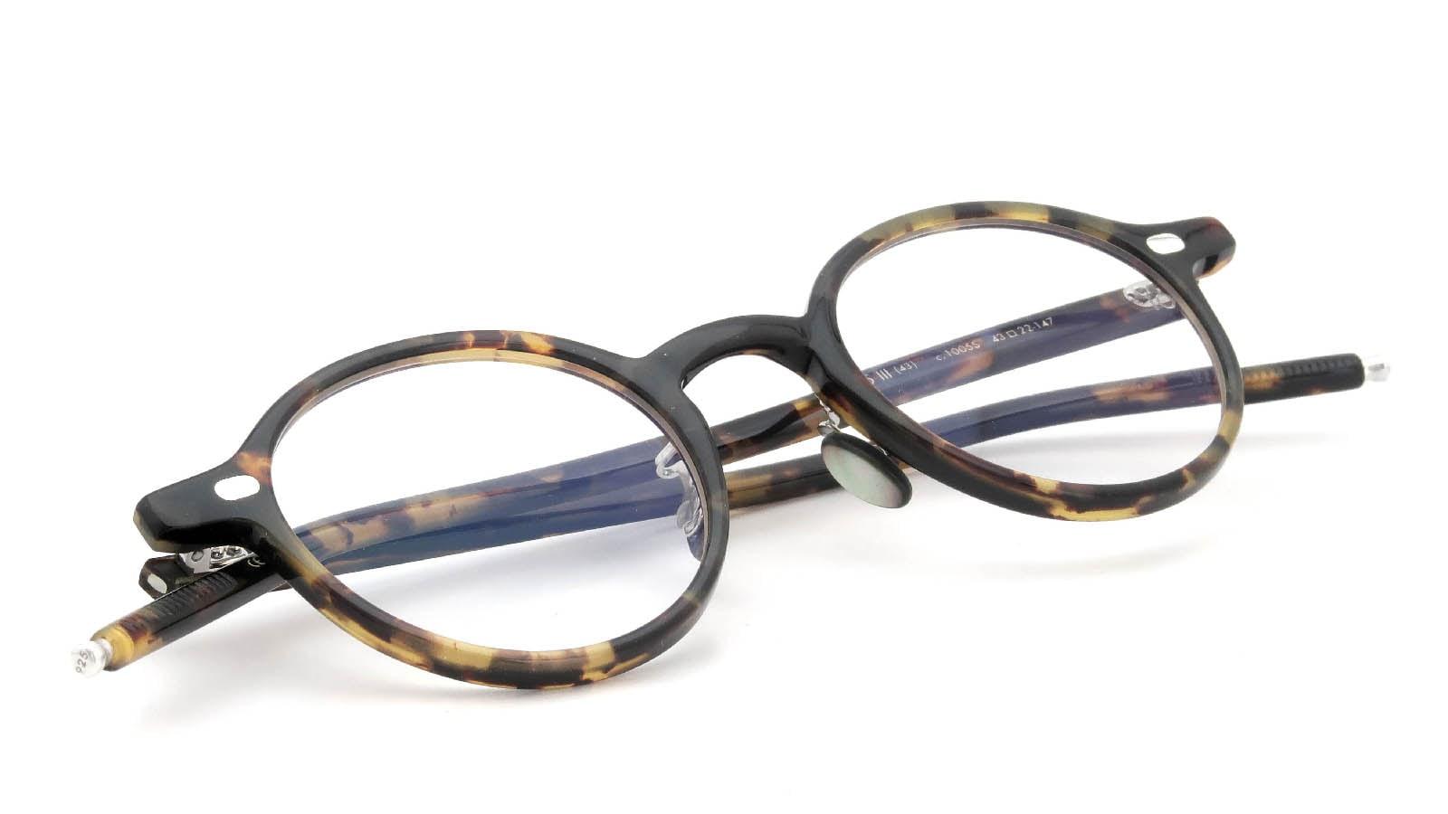 10 eyevan NO.5 Ⅲ 43size  c.1005S Havana 12
