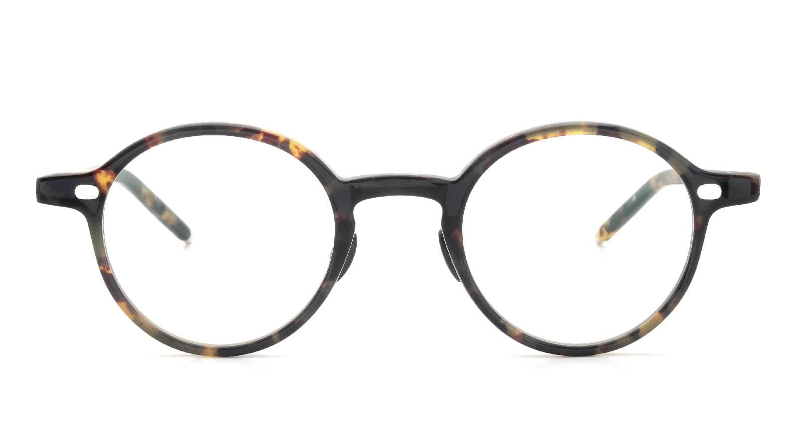 10 eyevan NO.5 Ⅲ 43size  c.1005S Havana  正面詳細