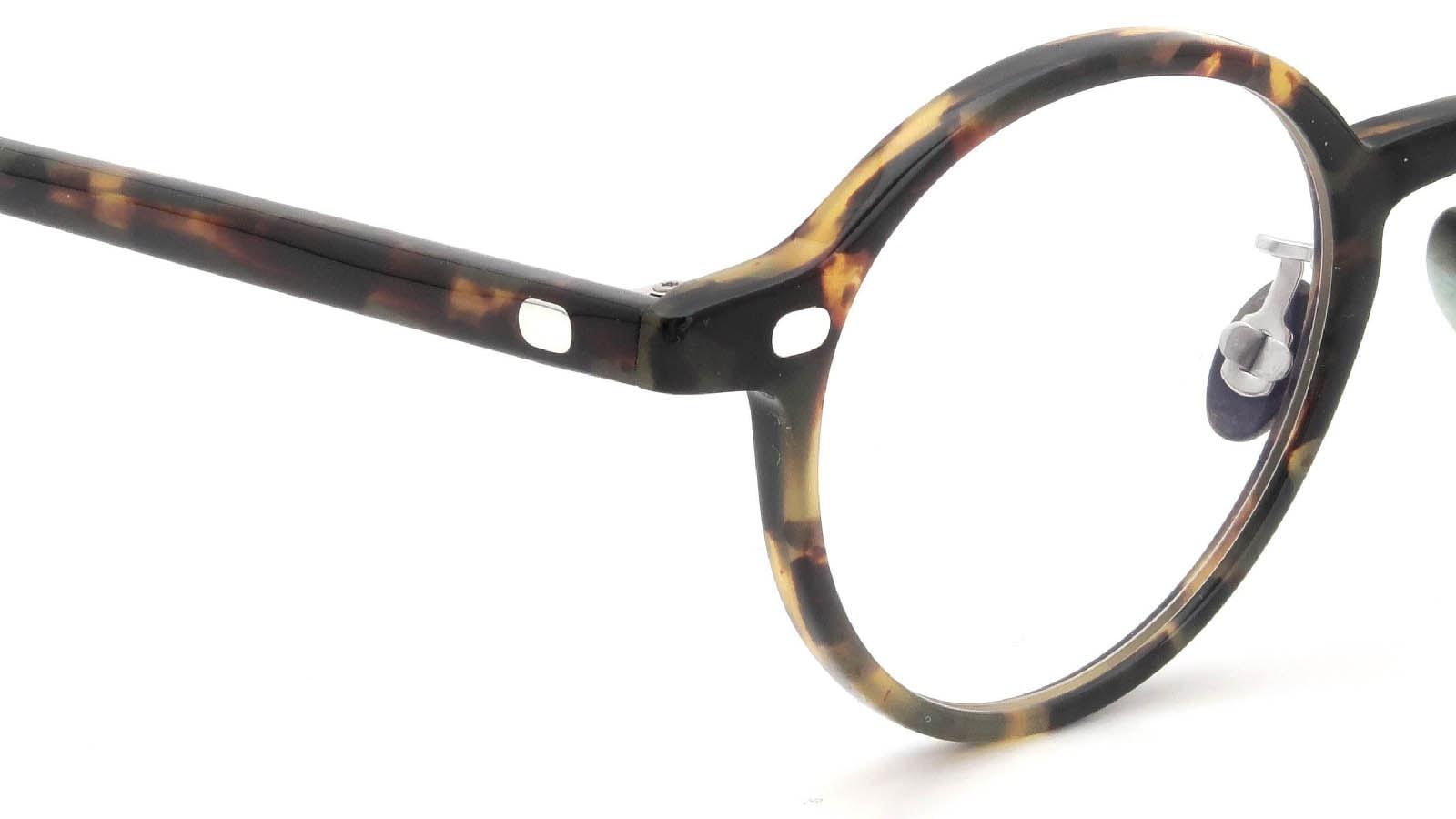 10 eyevan NO.5 Ⅲ 43size  c.1005S Havana ヒンジの詳細