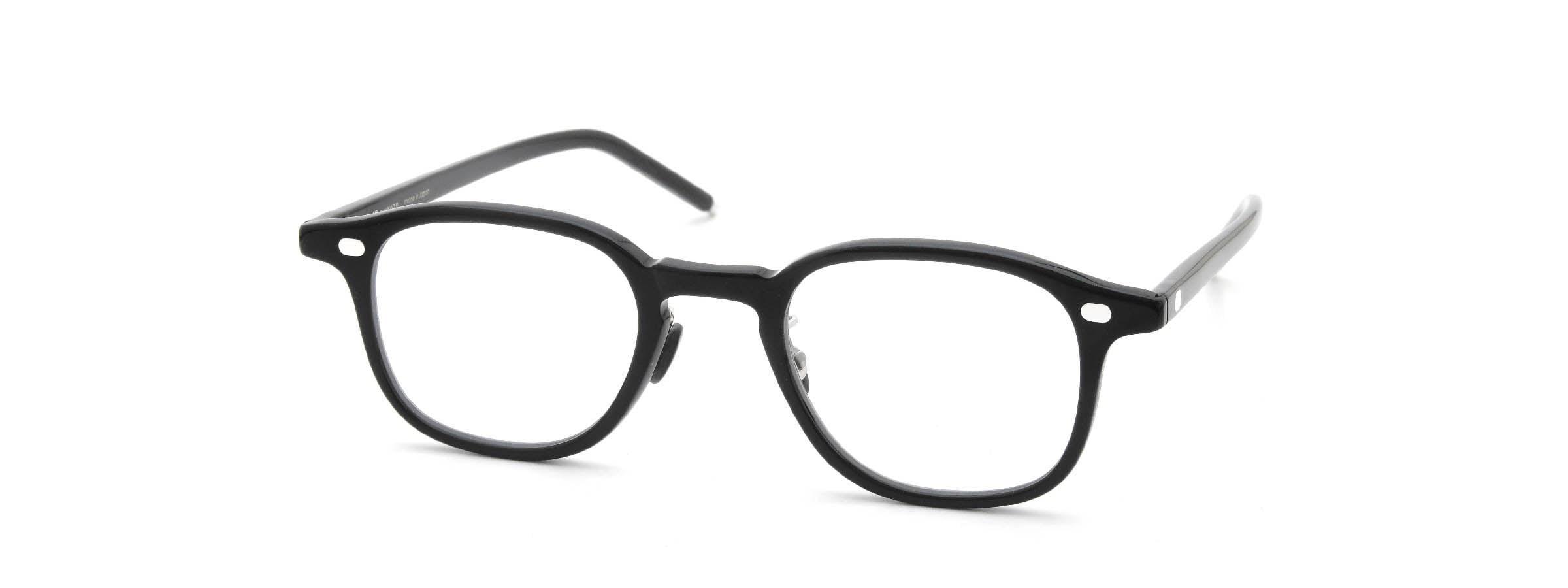 10 eyevan NO.7 Ⅲ 45size  c.1002S Black全体像