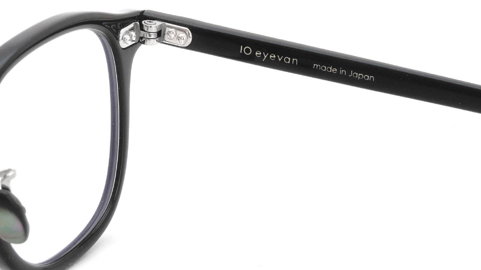 10 eyevan NO.7 Ⅲ 45size  c.1002S Black 11