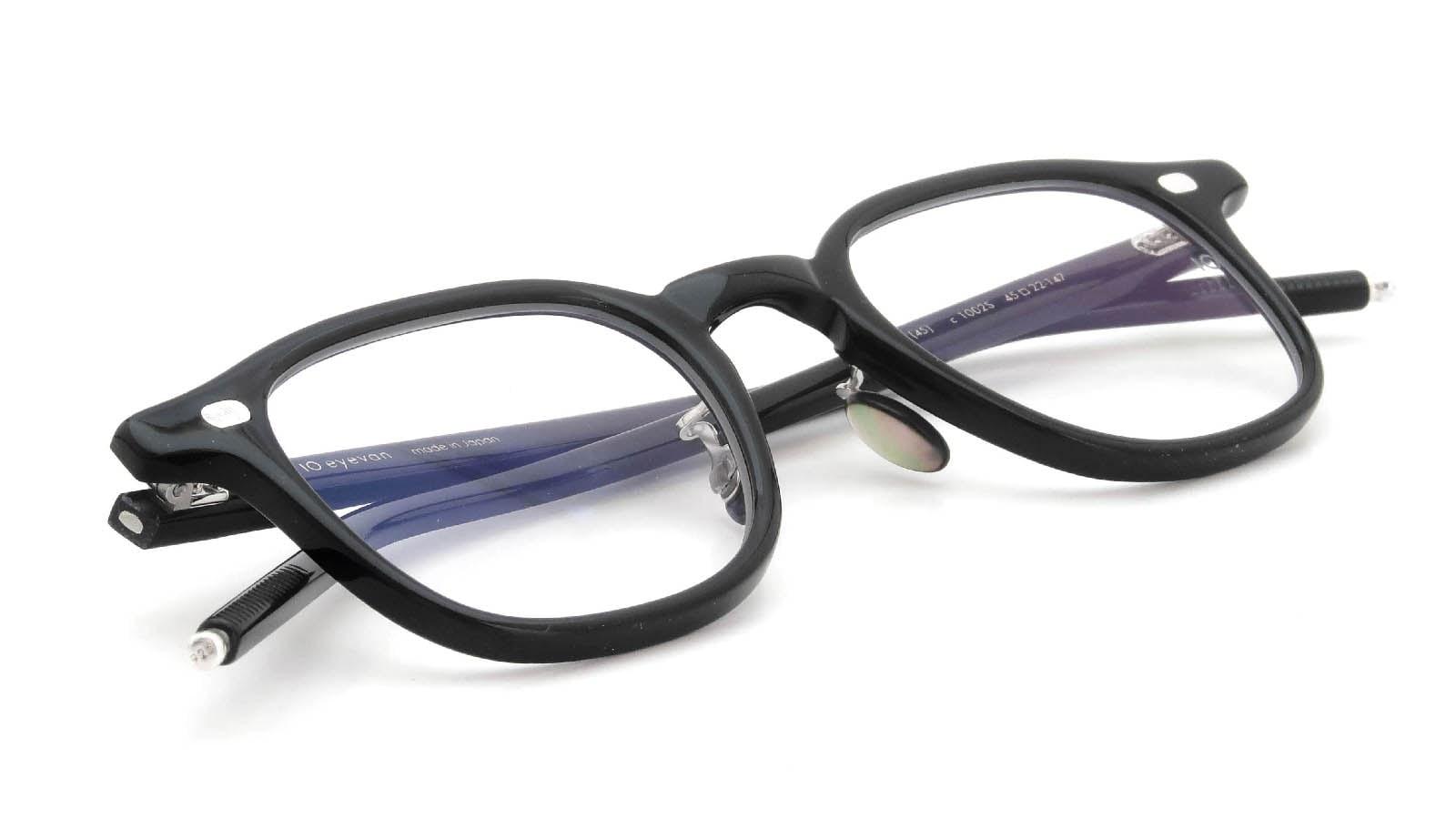 10 eyevan NO.7 Ⅲ 45size  c.1002S Black 12