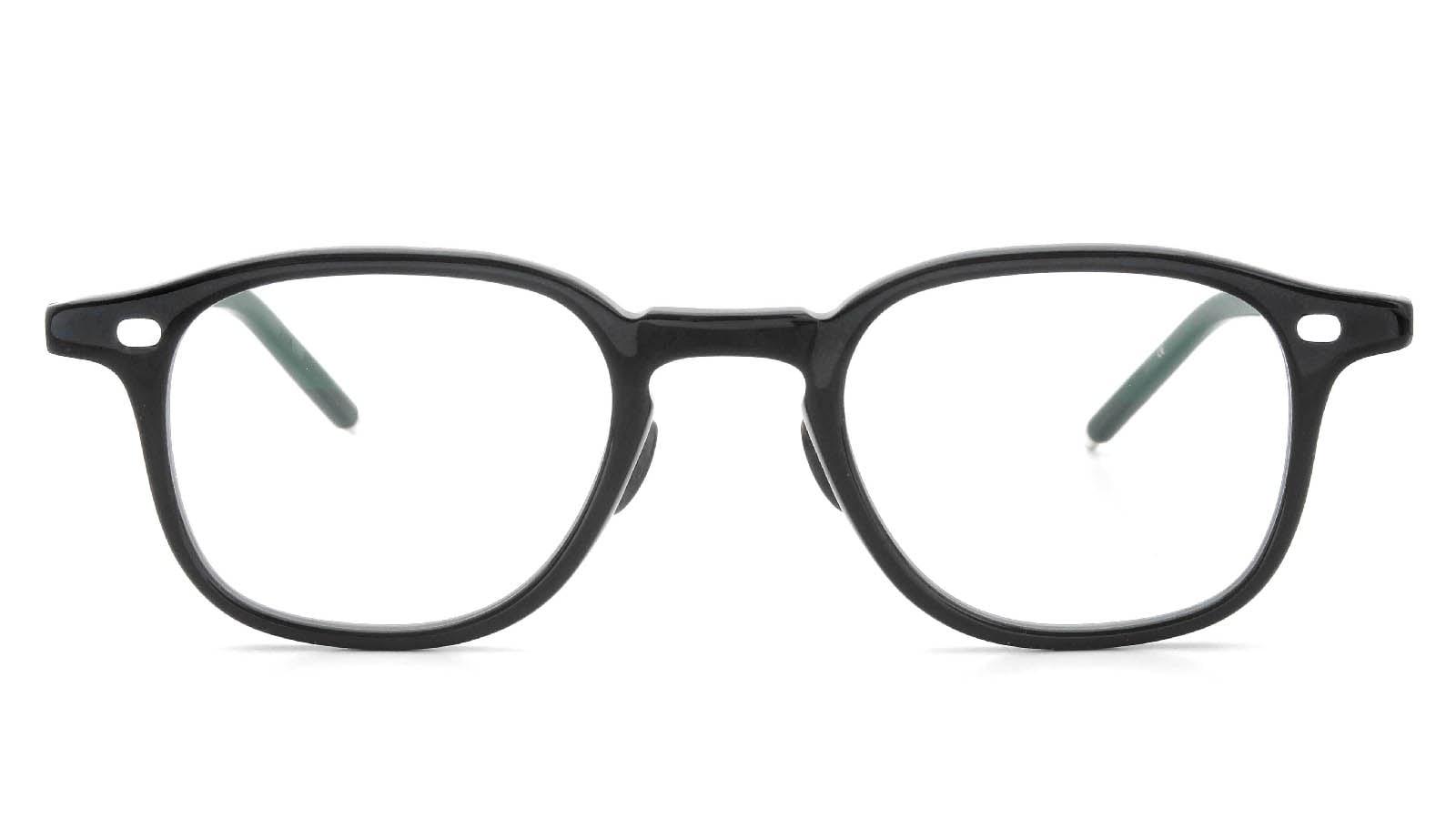 10 eyevan NO.7 Ⅲ 45size  c.1002S Black  正面詳細