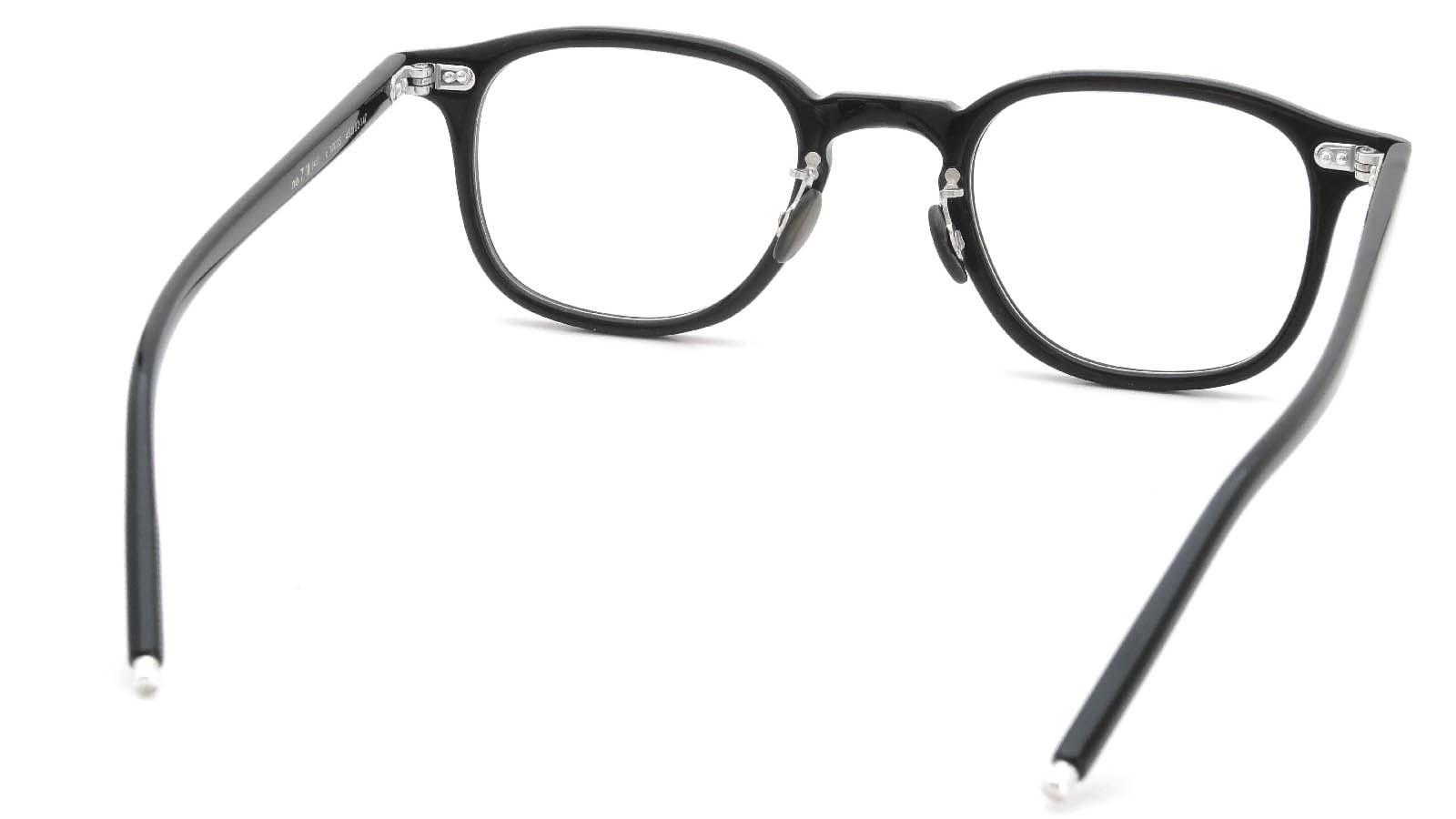 10 eyevan NO.7 Ⅲ 45size  c.1002S Black 7