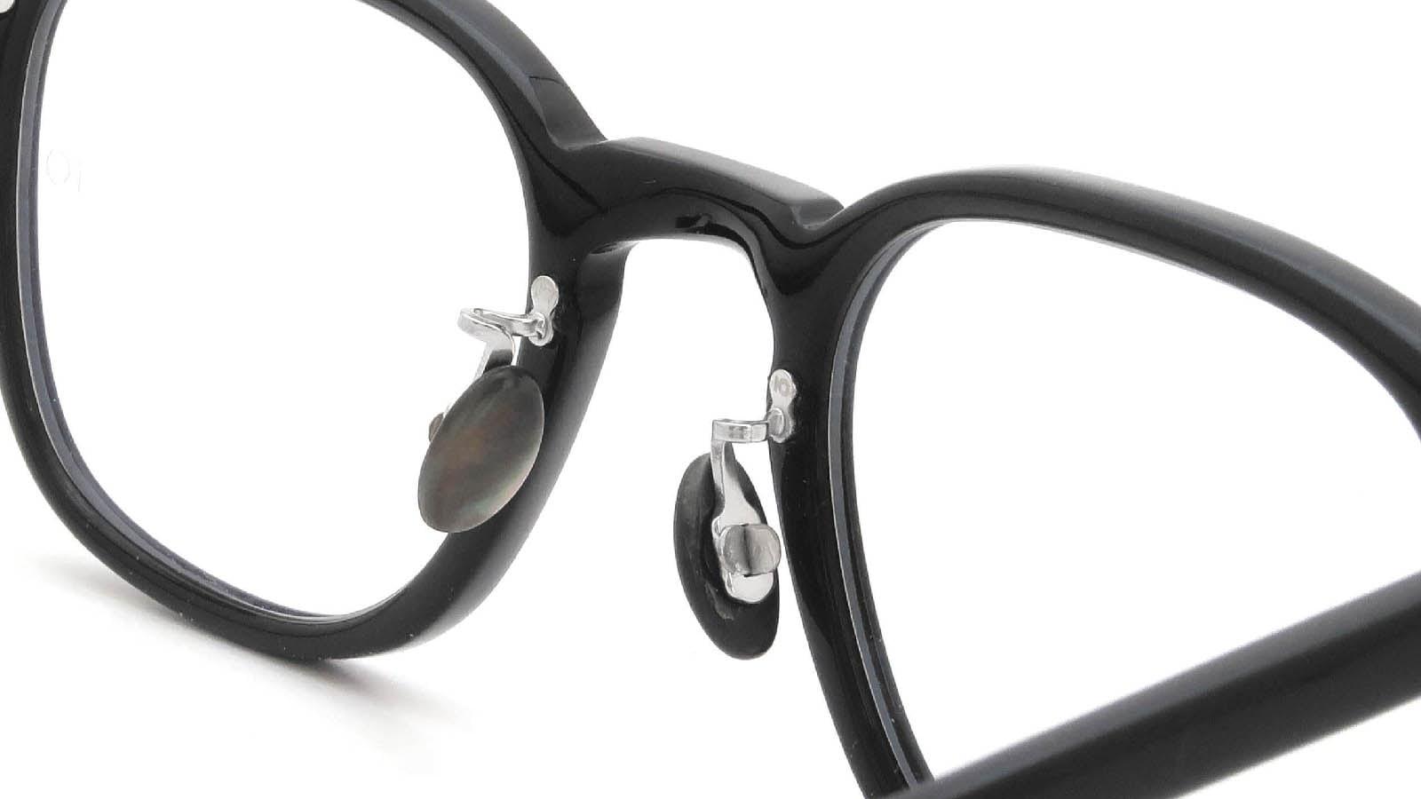 10 eyevan NO.7 Ⅲ 45size  c.1002S Black 8