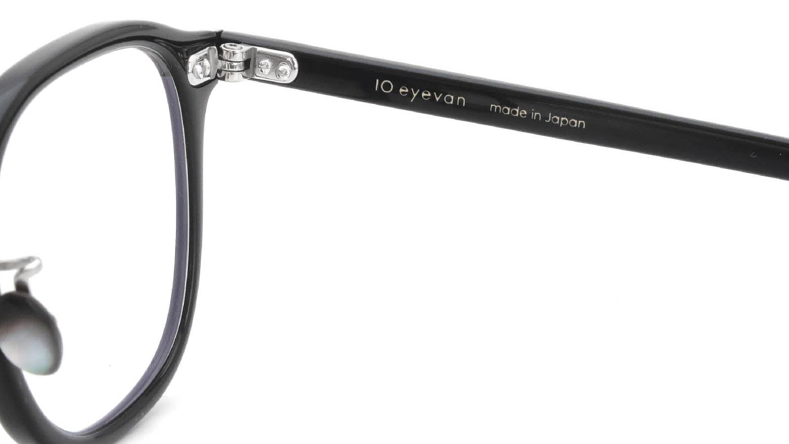 10 eyevan NO.7 Ⅲ 47size  c.1002S Black 11