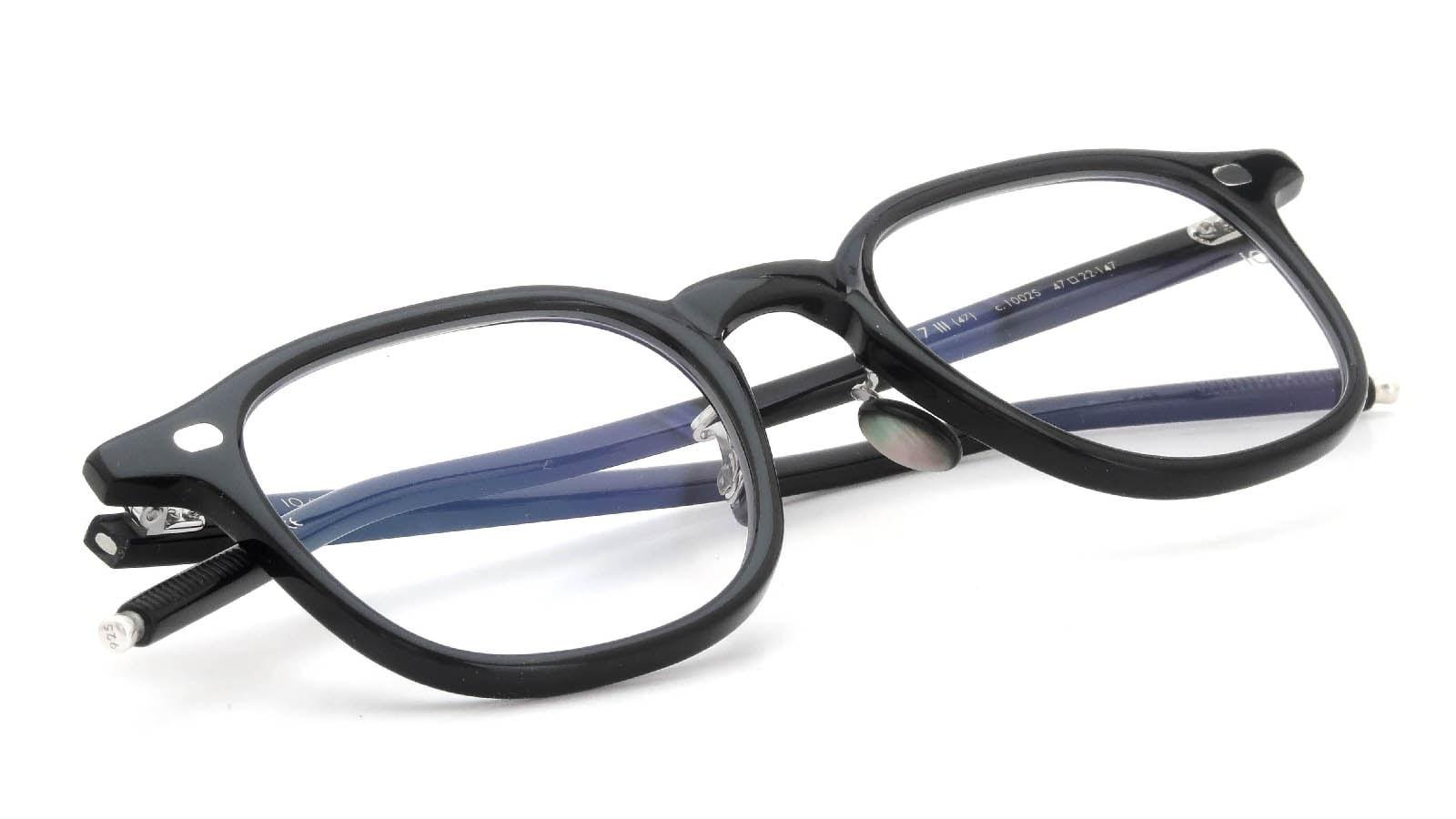 10 eyevan NO.7 Ⅲ 47size  c.1002S Black 12