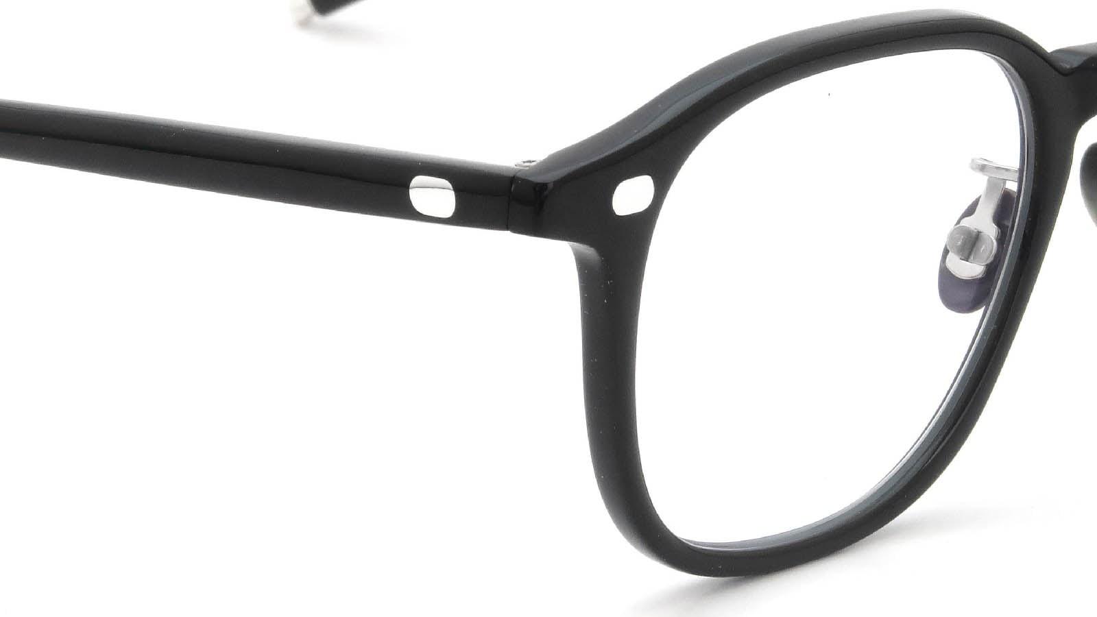 10 eyevan NO.7 Ⅲ 47size  c.1002S Black 5