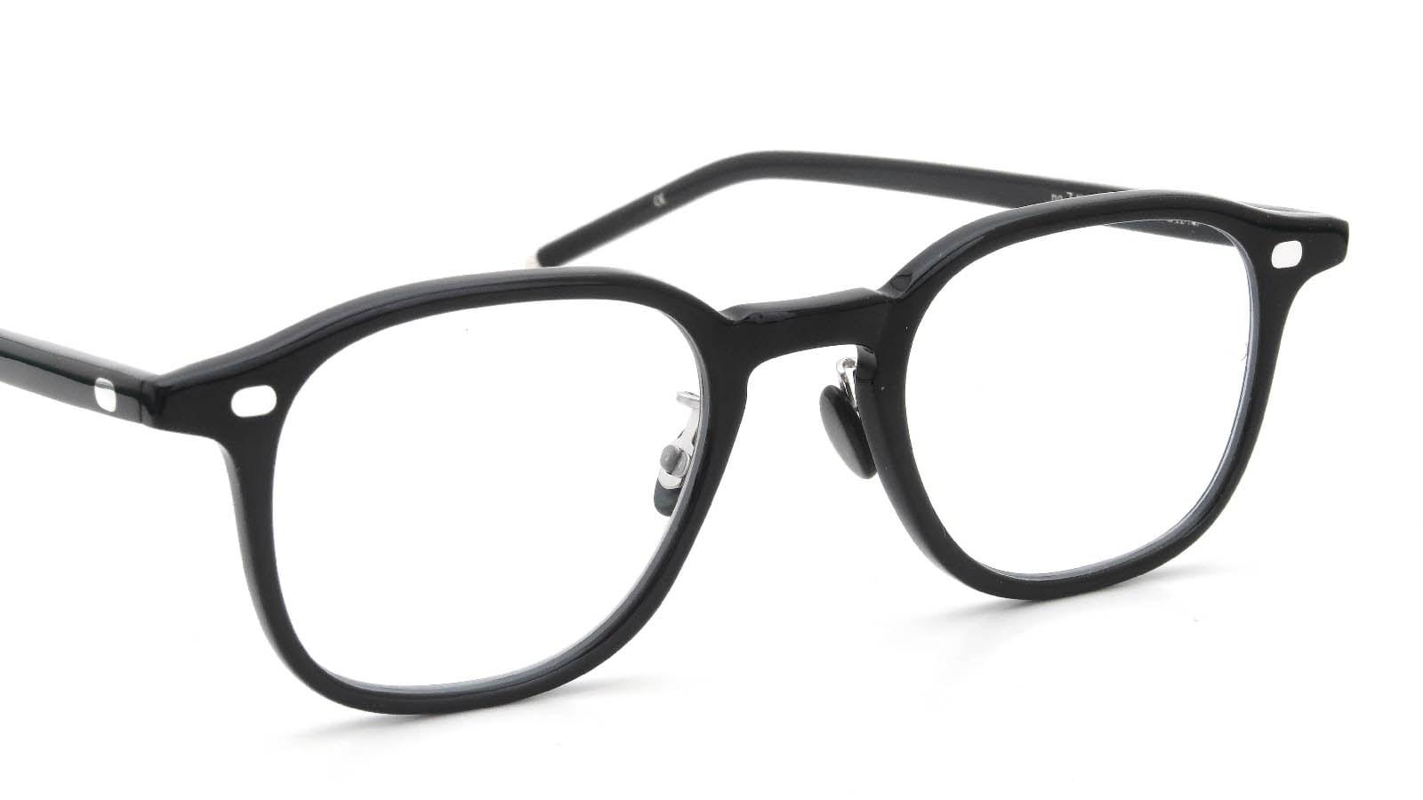 10 eyevan NO.7 Ⅲ 47size  c.1002S Black 6