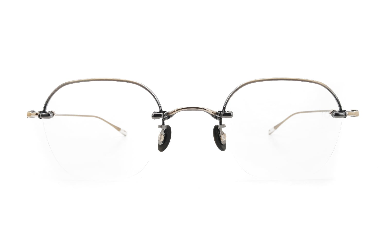 10 eyevan NO.2 Ⅱ 4S-CL OldGold  正面詳細
