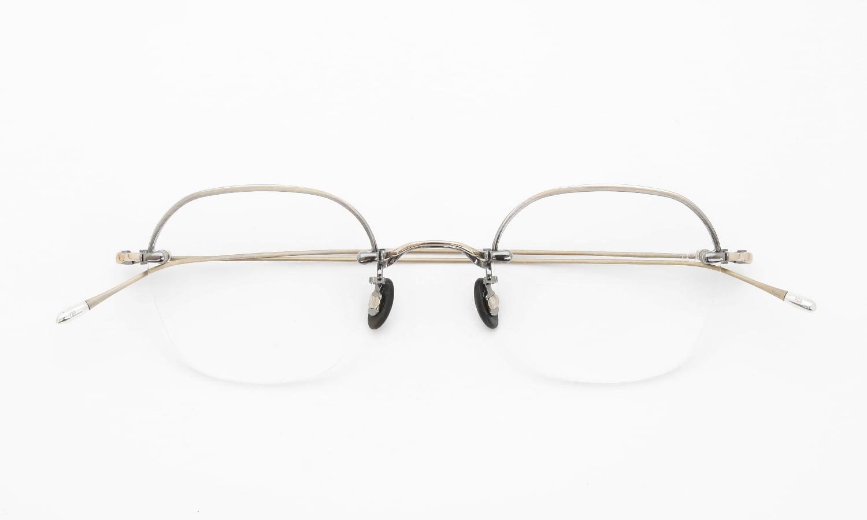 10 eyevan NO.2 Ⅱ 4S-CL OldGold 折り畳み詳細