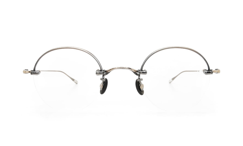 10 eyevan NO.5 Ⅱ 43 4S-CL OldGold  正面詳細