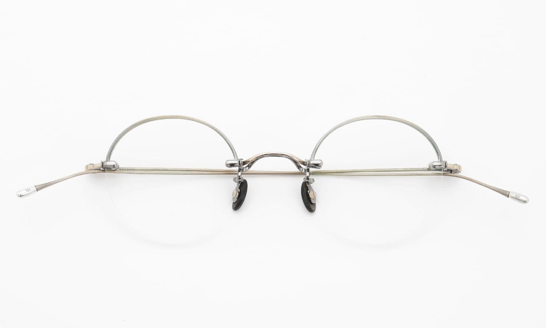 10 eyevan NO.5 Ⅱ 43 4S-CL OldGold 折り畳み詳細
