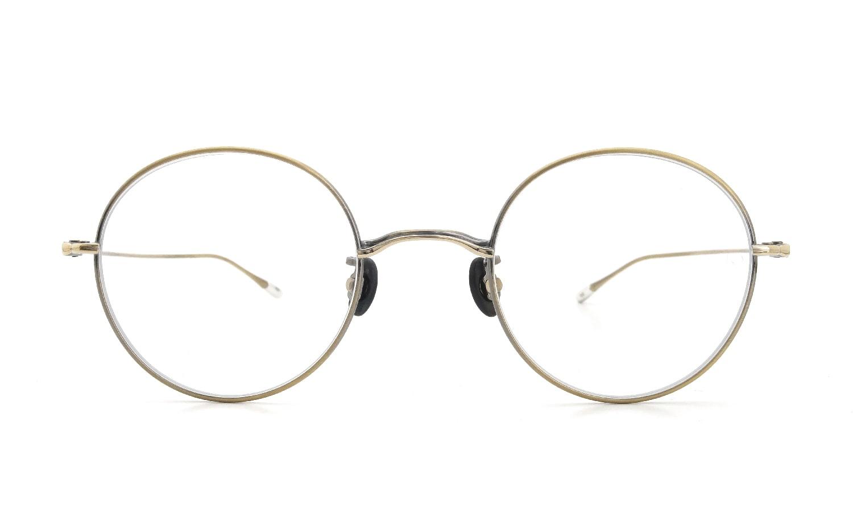 10 eyevan NO.5 46 4S-CL OldGold  正面詳細