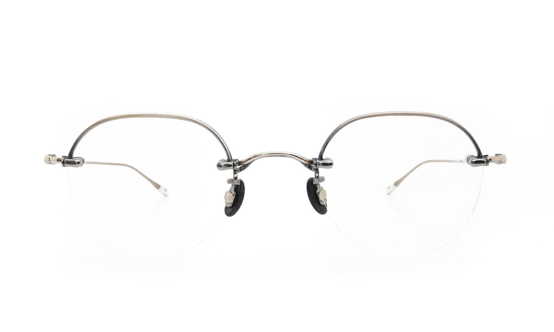 10 eyevan NO.6 Ⅱ 44 4S-CL OldGold  正面詳細