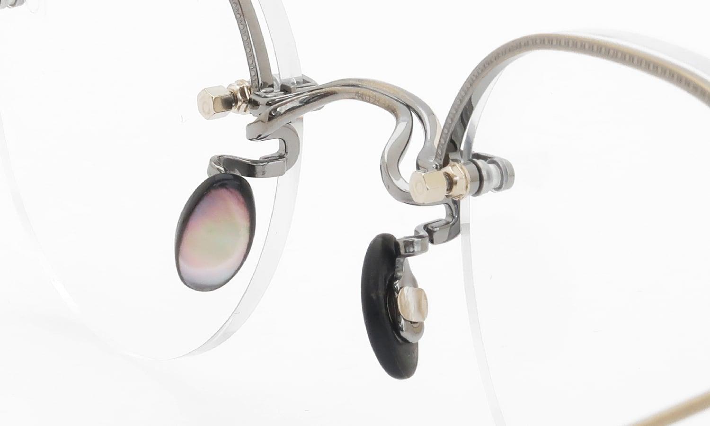 10 eyevan NO.6 Ⅱ 44 4S-CL OldGold 8