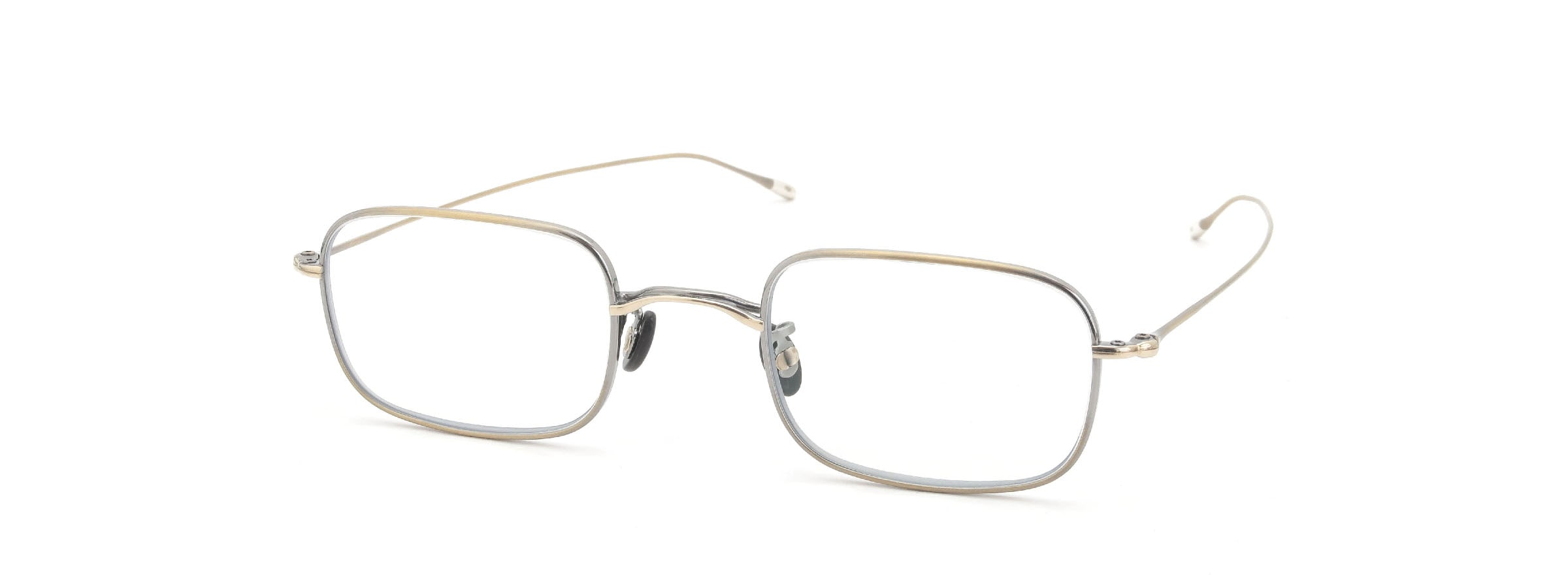10 eyevan NO.8 47size 4S-CL Antique Gold全体像