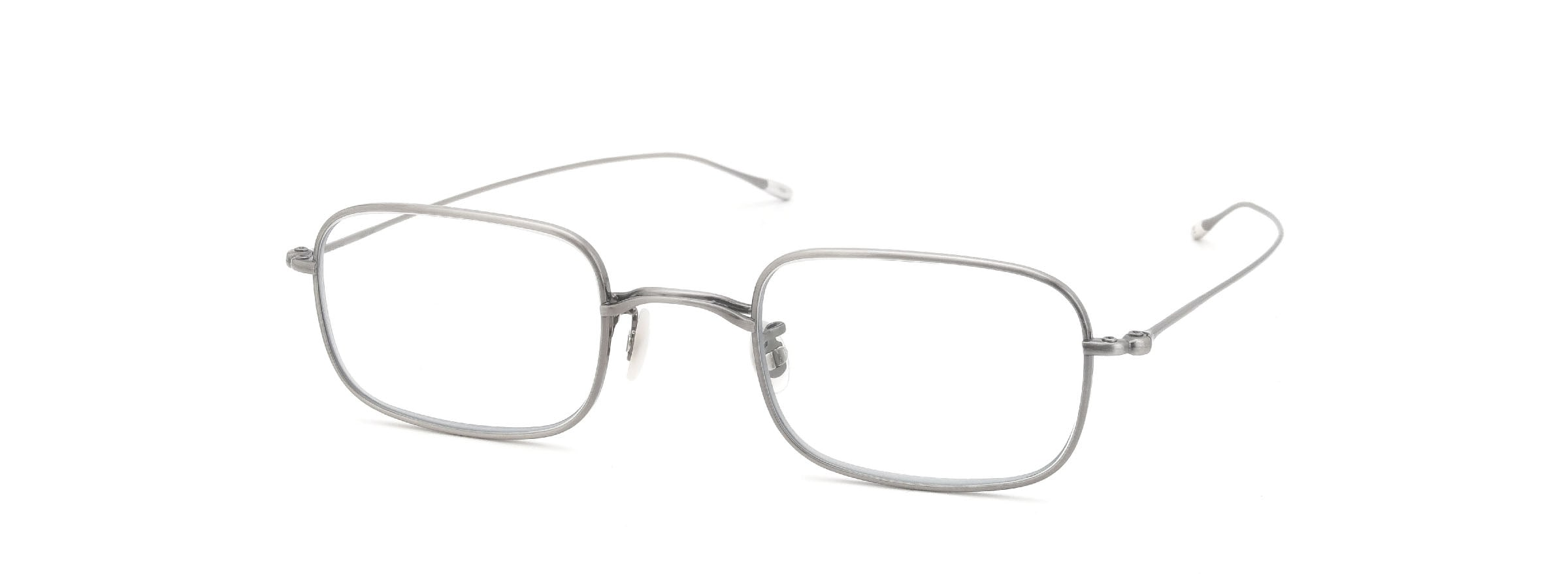 10 eyevan NO.8 47size 5S-CL Real Pewter全体像