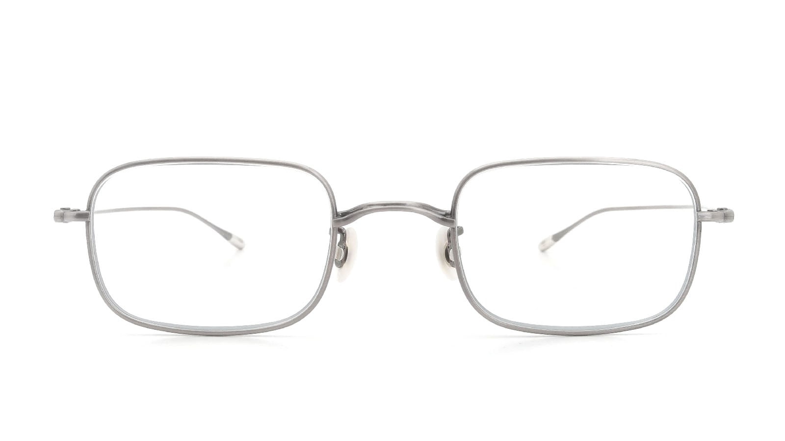 10 eyevan NO.8 47size 5S-CL Real Pewter  正面詳細