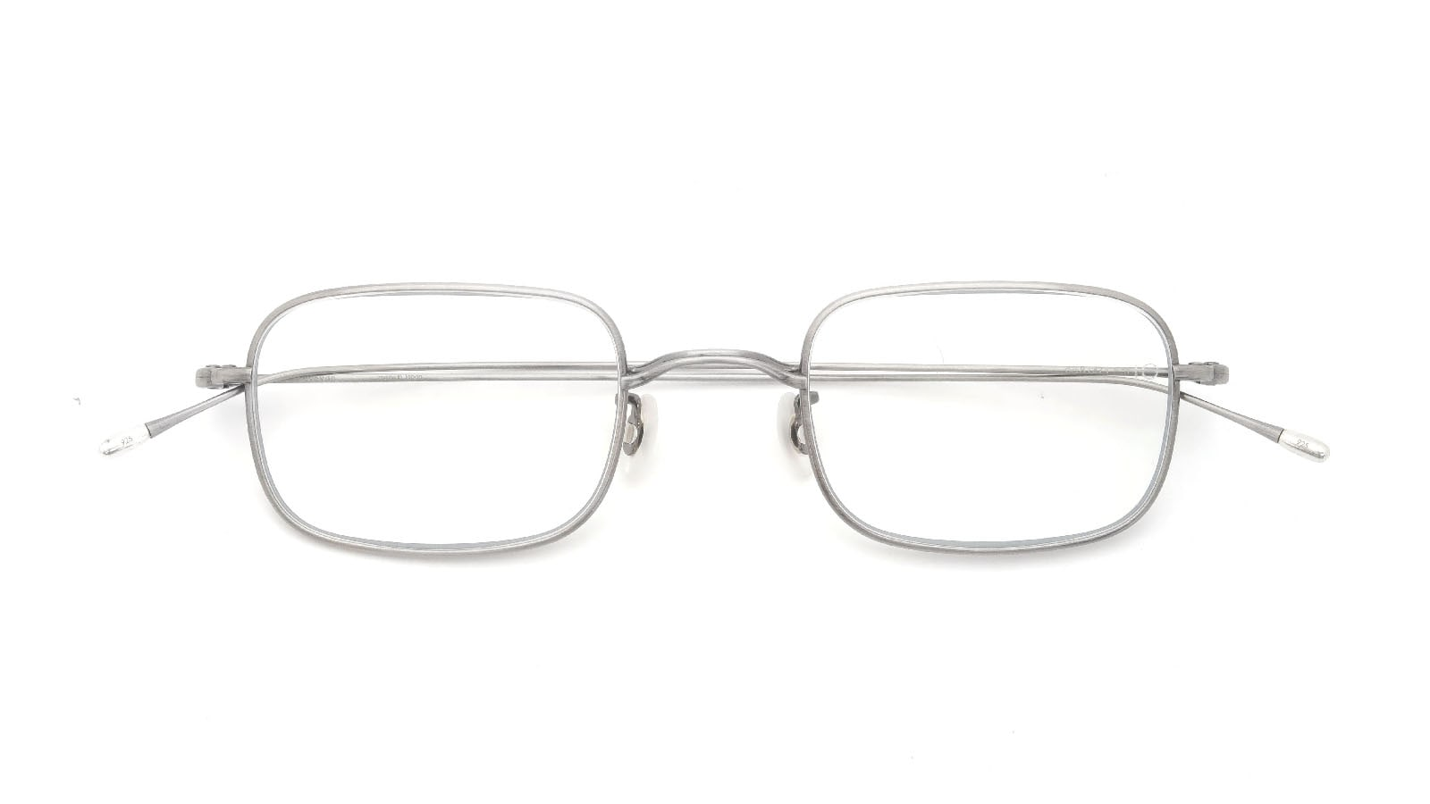 10 eyevan NO.8 47size 5S-CL Real Pewter 折り畳み詳細