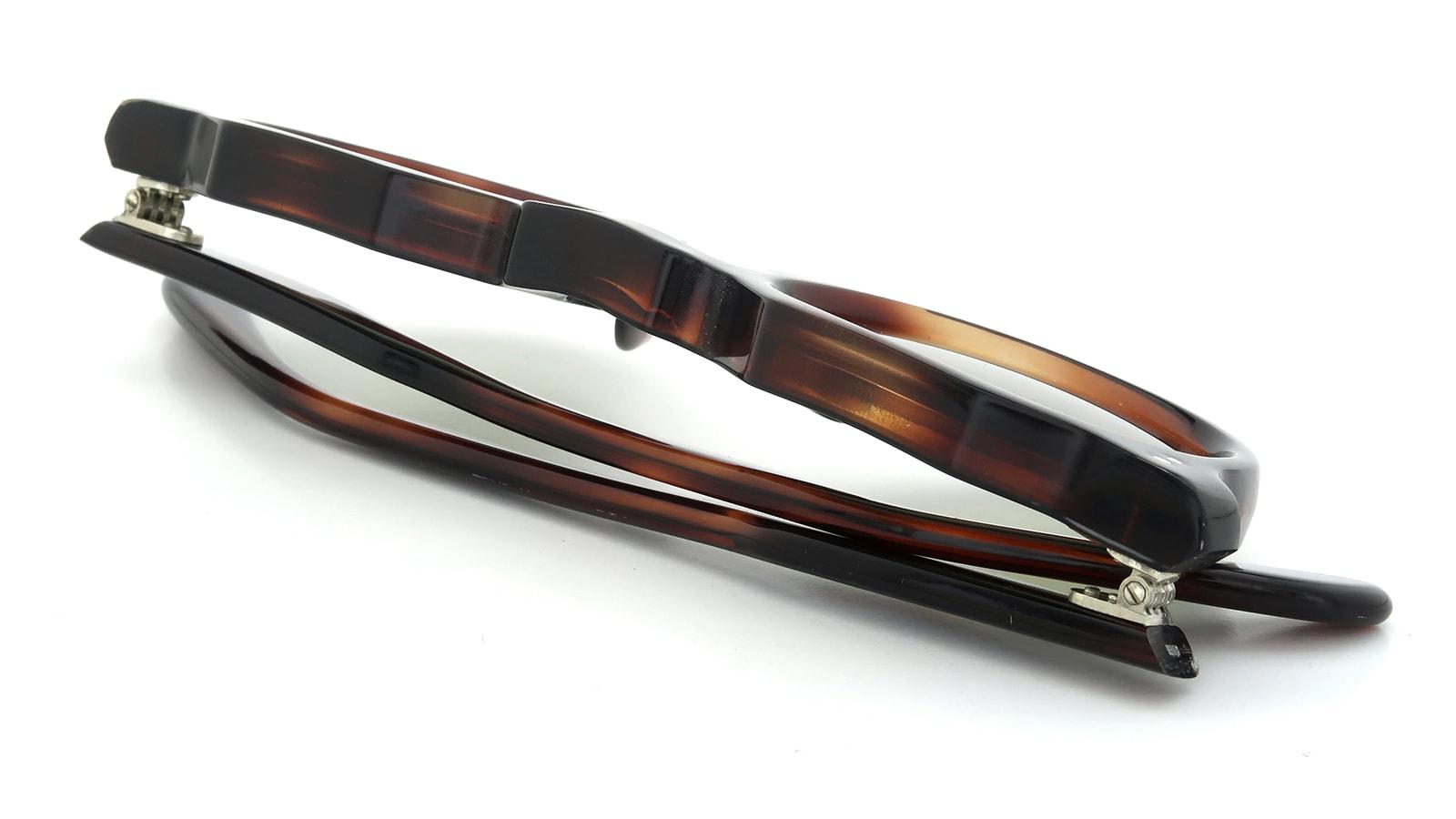 Lesca vintage Crown-Panto Dark-demi 8mm (v8) 12