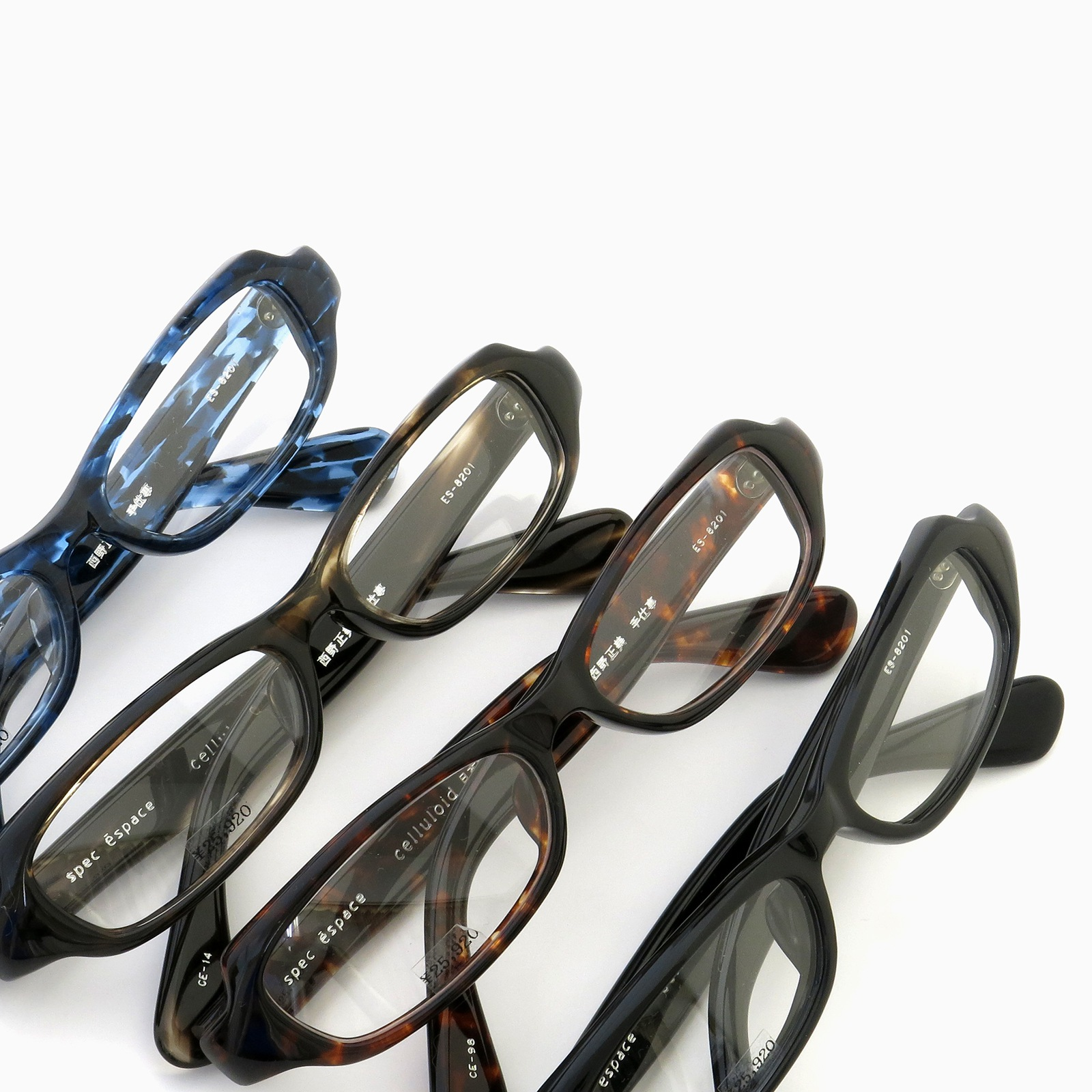 CELLULOID製メガネのロングセラー