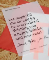 NewYearCard from Haffmans&Neumeister