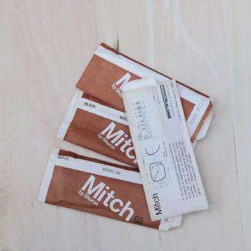 切れ長のスクエア/VINTAGE Shuron Mitch