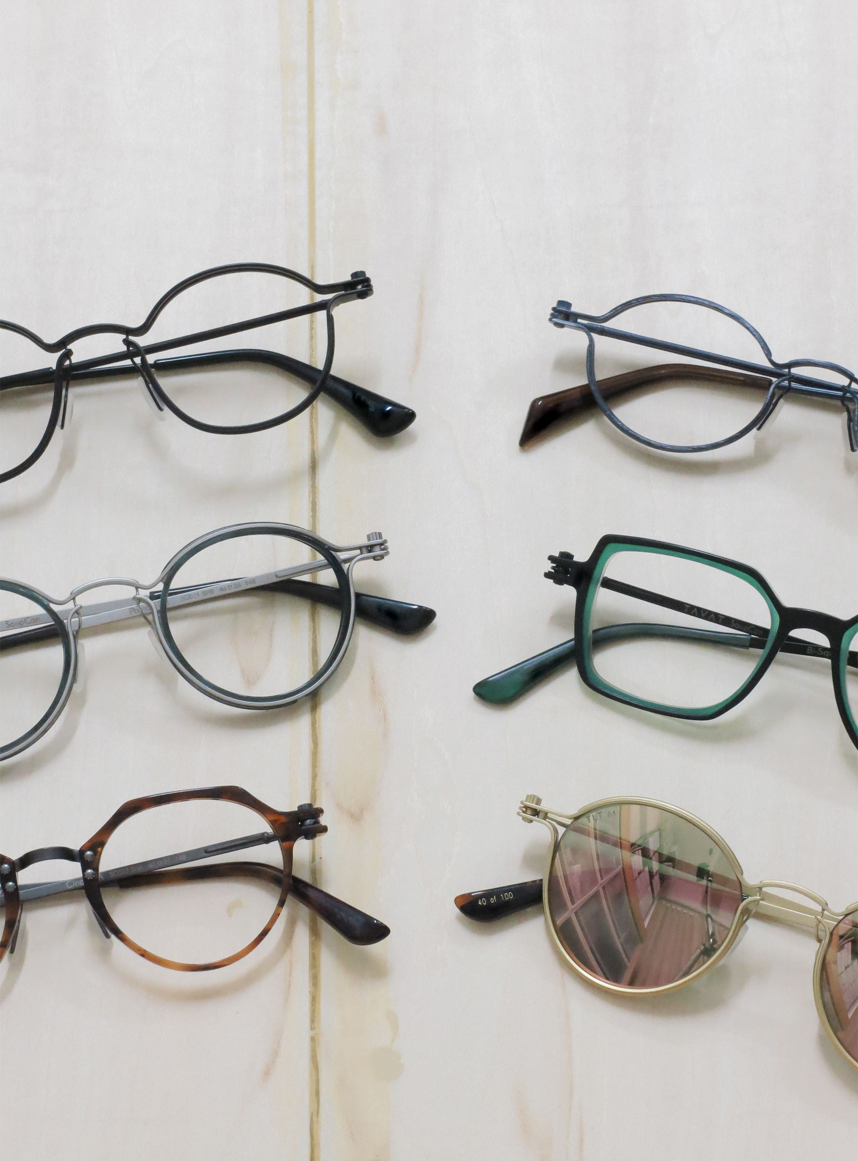 TAVAT EYEWEAR/SoupCan collection