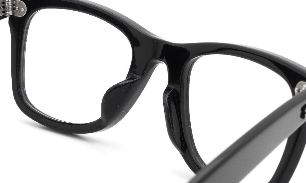 眼鏡の鼻あて・パット交換 RayBan RB5121F 2000 前