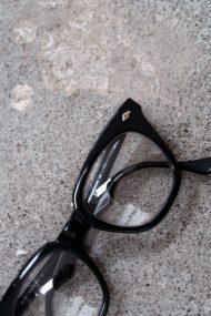 1960年代 SAFETY BLACK クロスダイヤ鋲/Bausch&Lomb