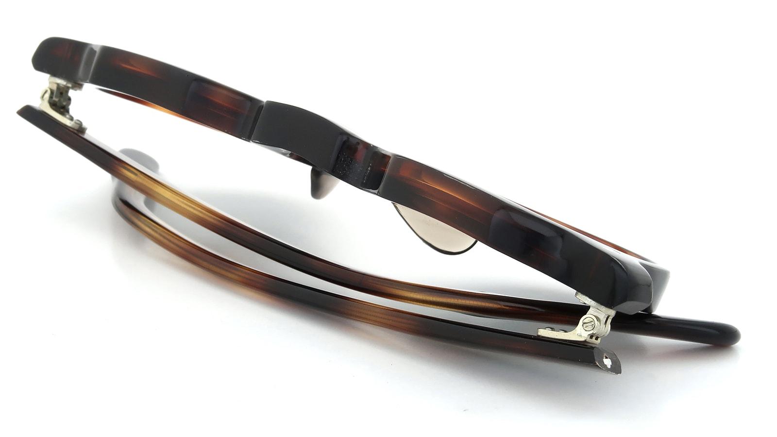 Lesca Vintage Crown-Panto 7mm Crystal-Brown (v1) 12
