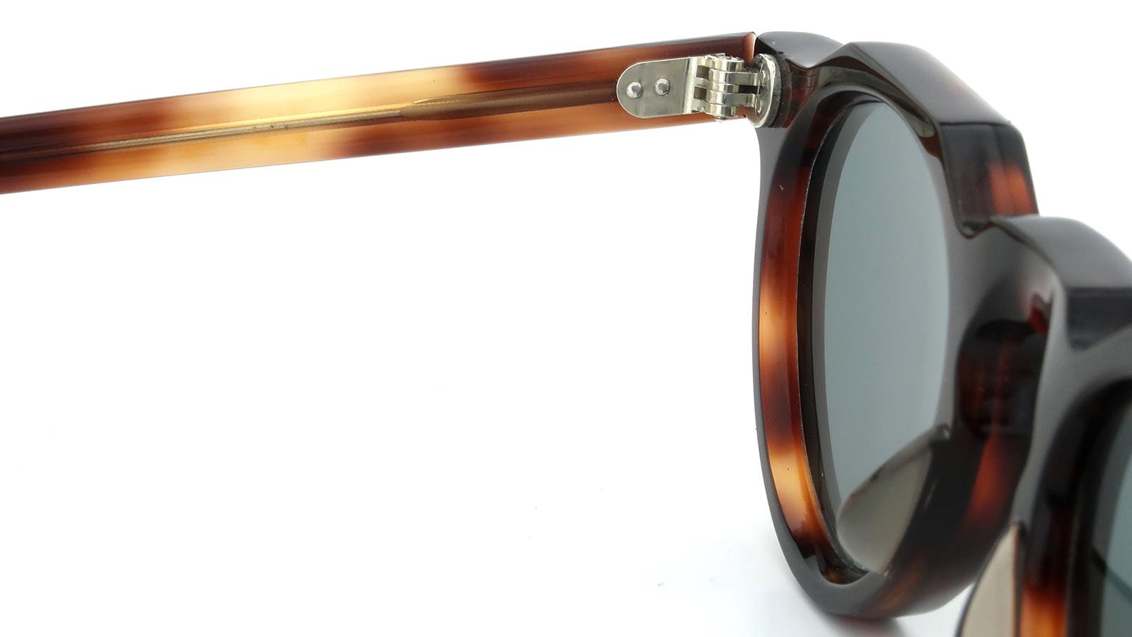 Lesca Vintage Crown-Panto 7mm Crystal-Brown (v1) 9