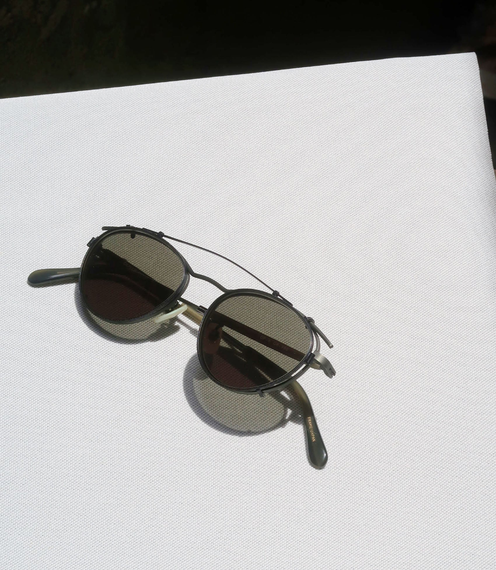 OLIVER PEOPLES OP-6 with clip GR-986