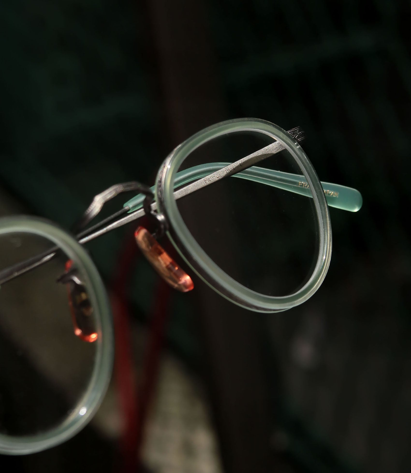 OLIVER PEOPLES 1980s-1990s MP-2 560 P