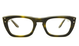 AO-American-Optical-アメリカンオプチカル-vintage-ヴィンテージ-メガネ60s-AO-2ドット-6-グリーンデミ-48サイズ