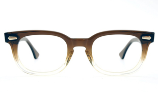 American Optical vintage 1960s BROWN-FADE 44size