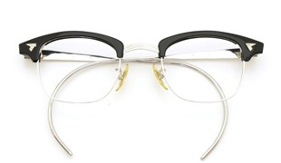 American Optical vintage [マルコムX ウイング鋲 1/10 12KGF 44-22 BK]
