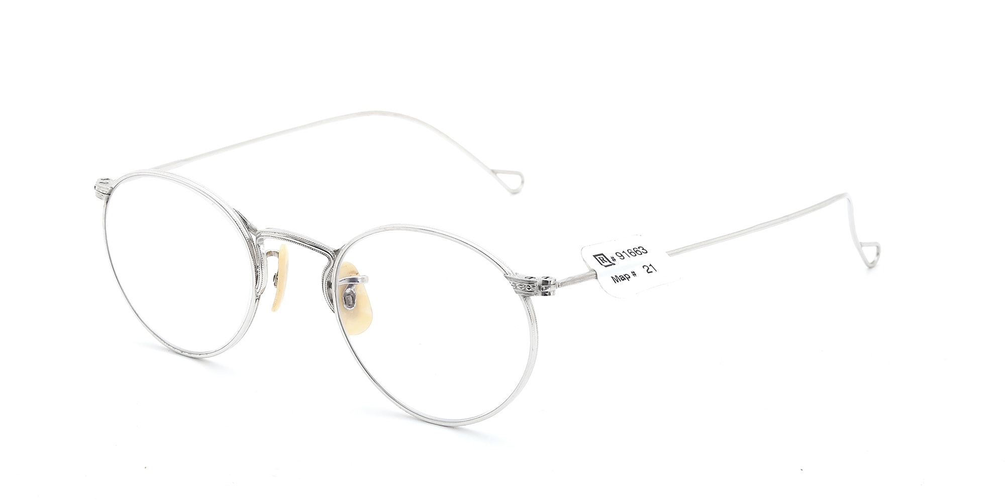 The Spectacle メガネ 1930s-40s American Optical Full-Frame Ful-Vue P-5 WG イメージ2