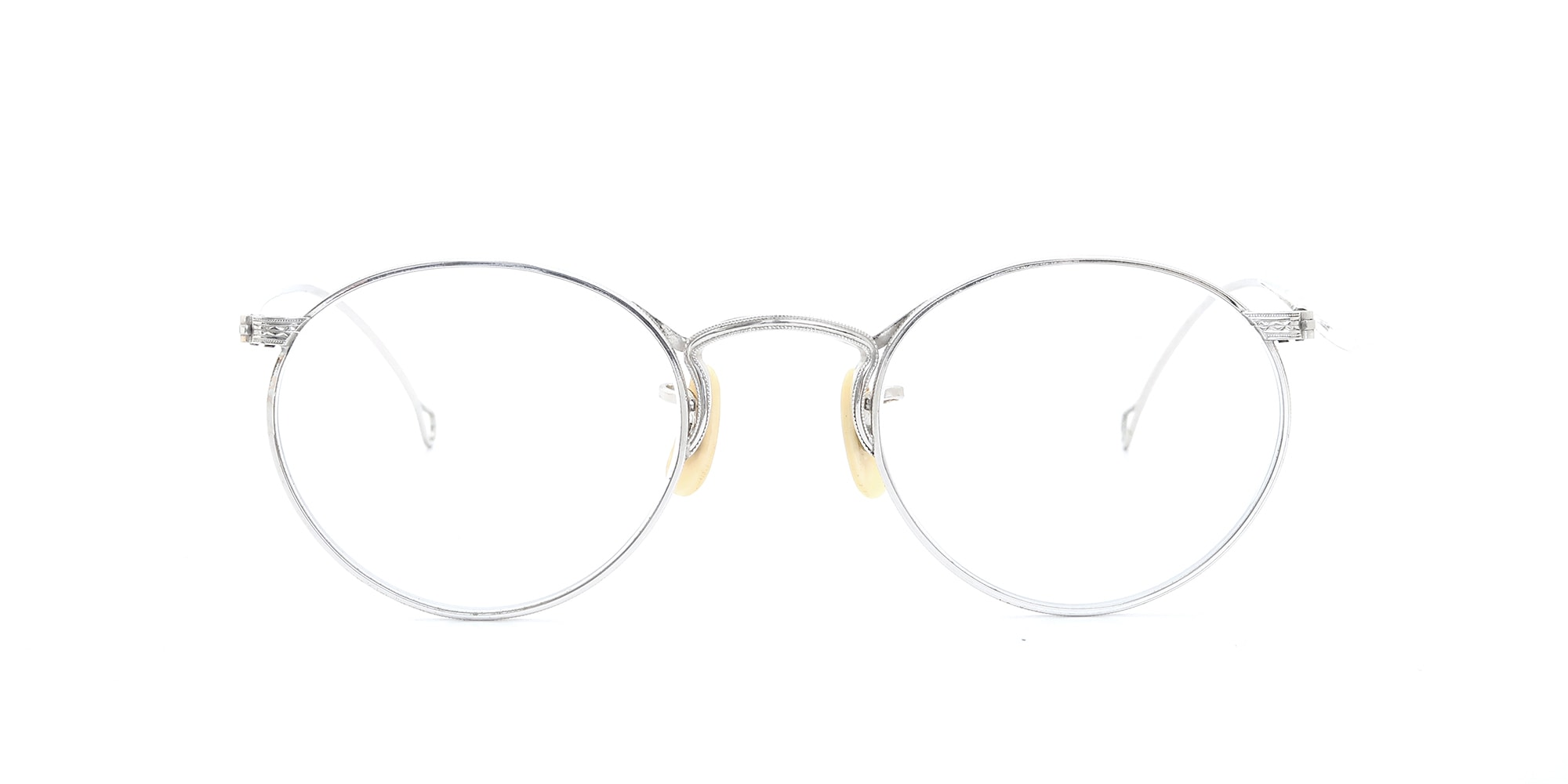 The Spectacle メガネ 1930s-40s American Optical Full-Frame Ful-Vue P-5 WG イメージ3