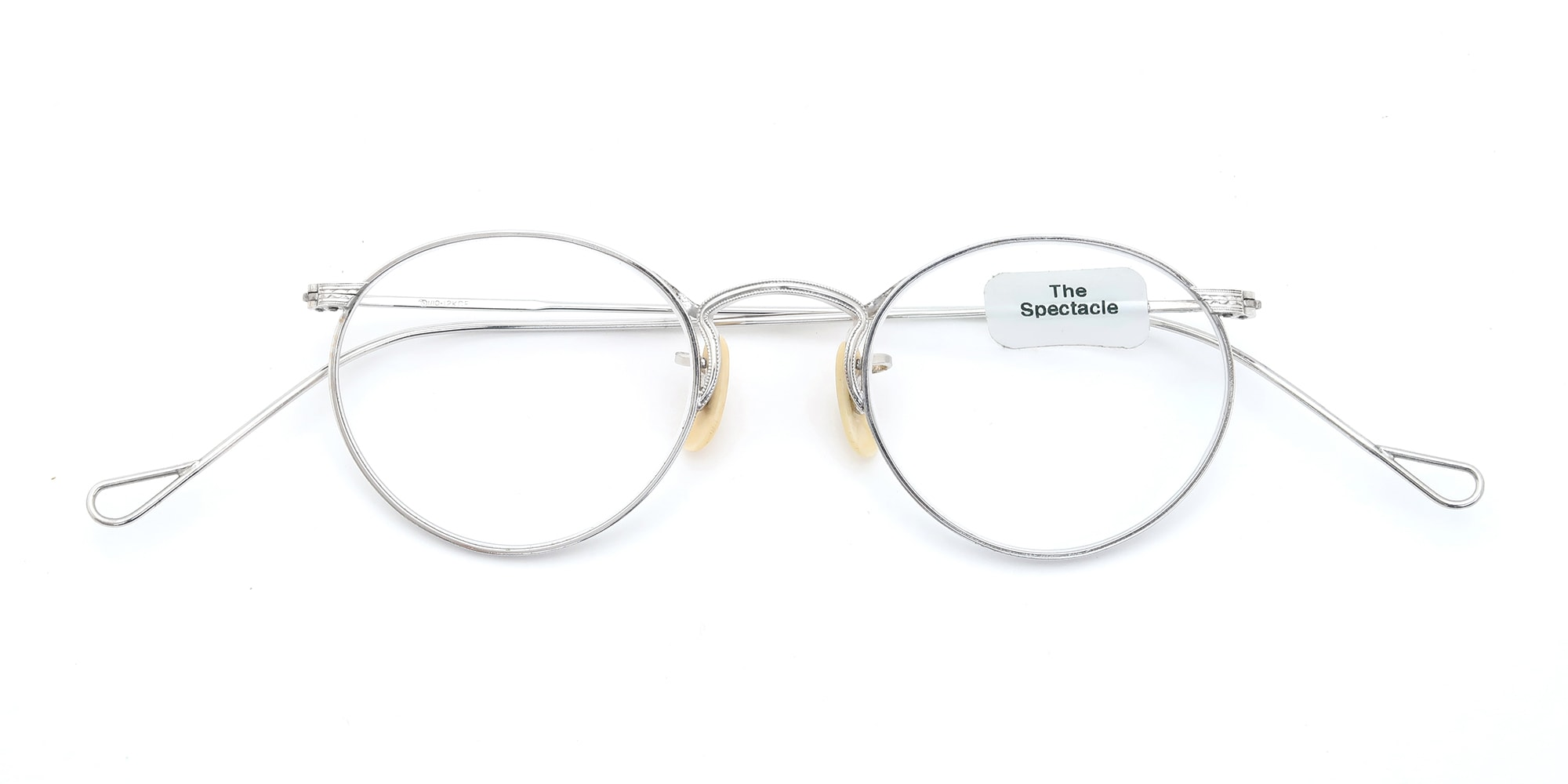 The Spectacle メガネ 1930s-40s American Optical Full-Frame Ful-Vue P-5 WG イメージ5