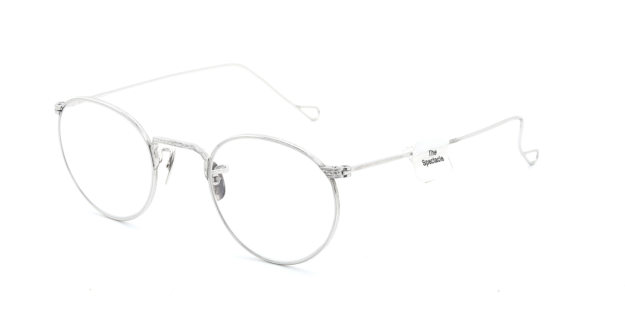 The Spectacle メガネ 1930s-40s American Optical Full-Frame Ful-Vue WG 44-22 イメージ2