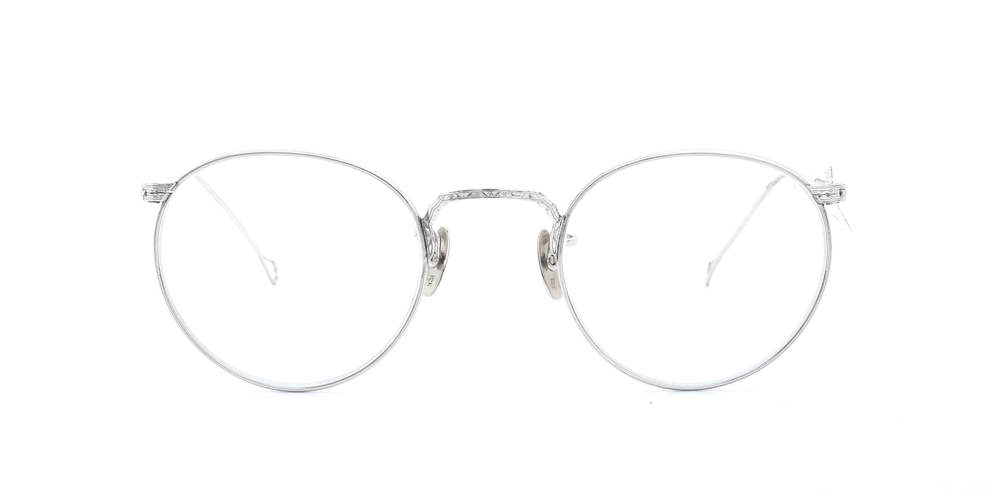 The Spectacle メガネ 1930s-40s American Optical Full-Frame Ful-Vue WG 44-22 イメージ3