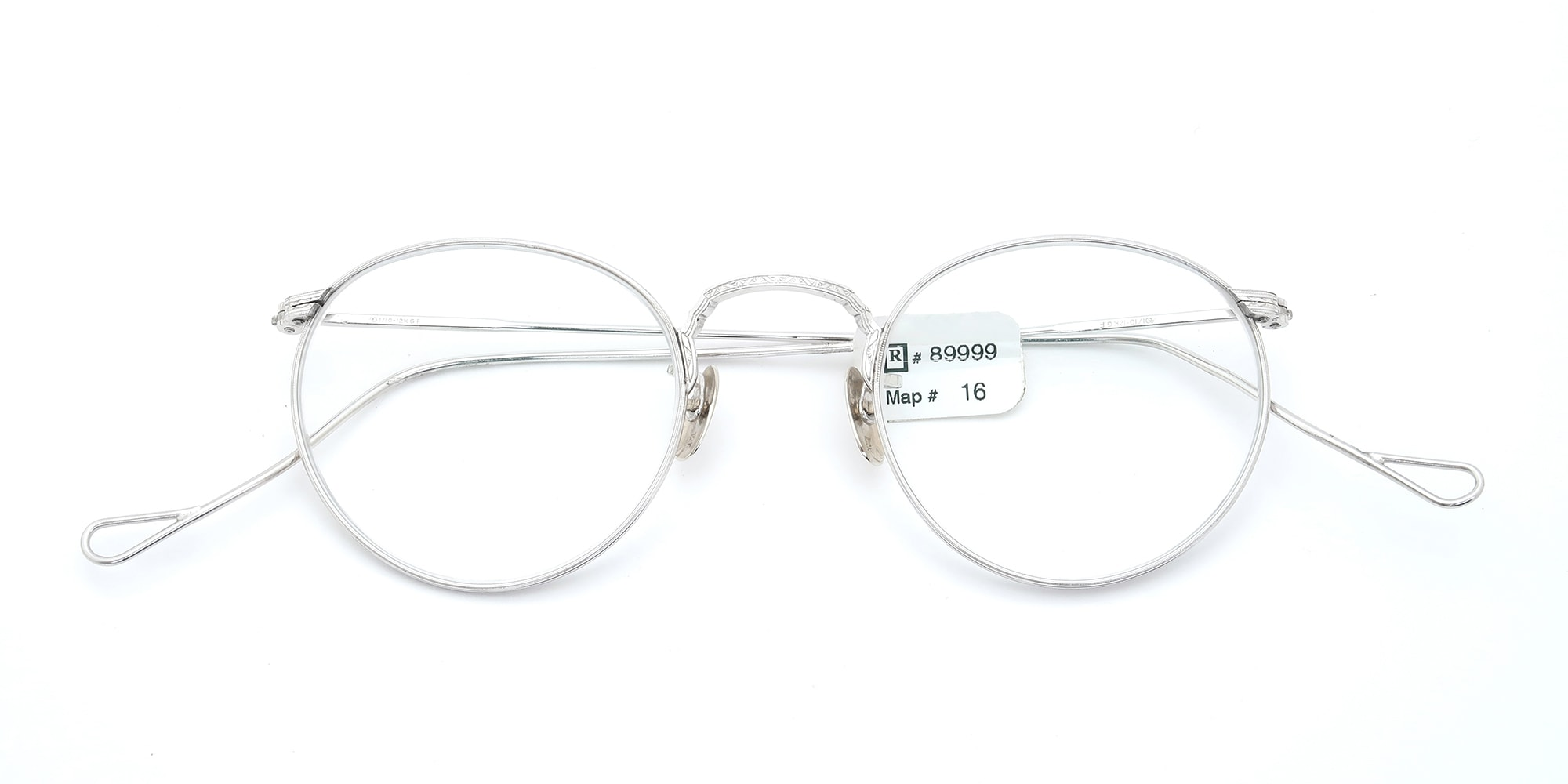 The Spectacle メガネ 1930s-40s American Optical Full-Frame Ful-Vue WG 44-22 イメージ5