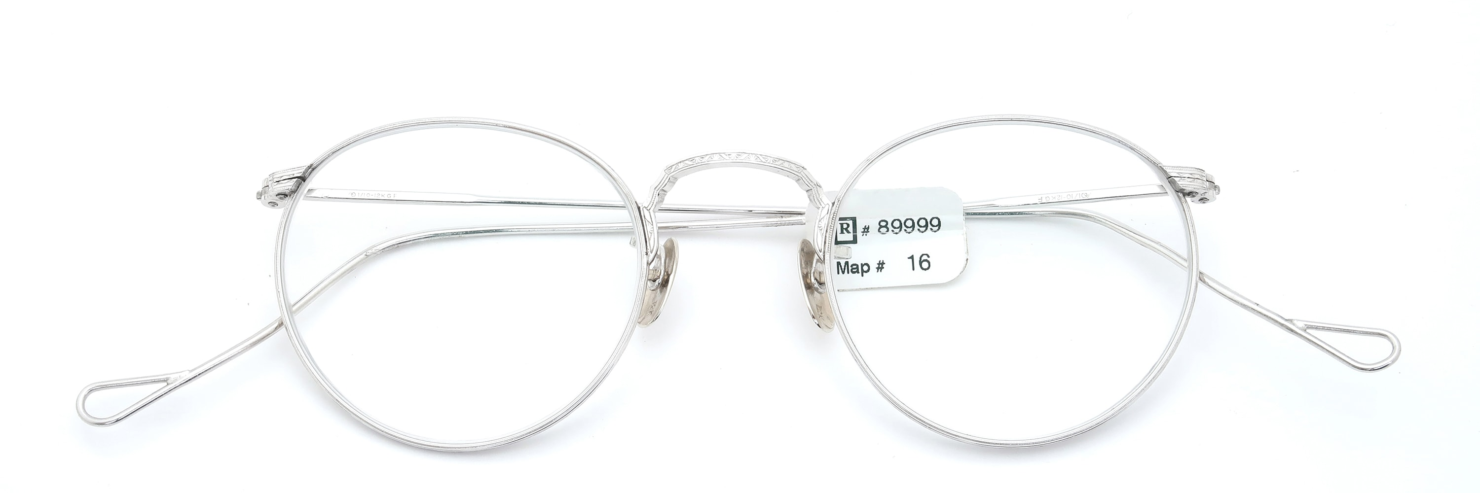 The Spectacle メガネ 1930s-40s American Optical Full-Frame Ful-Vue WG 44-22 イメージ