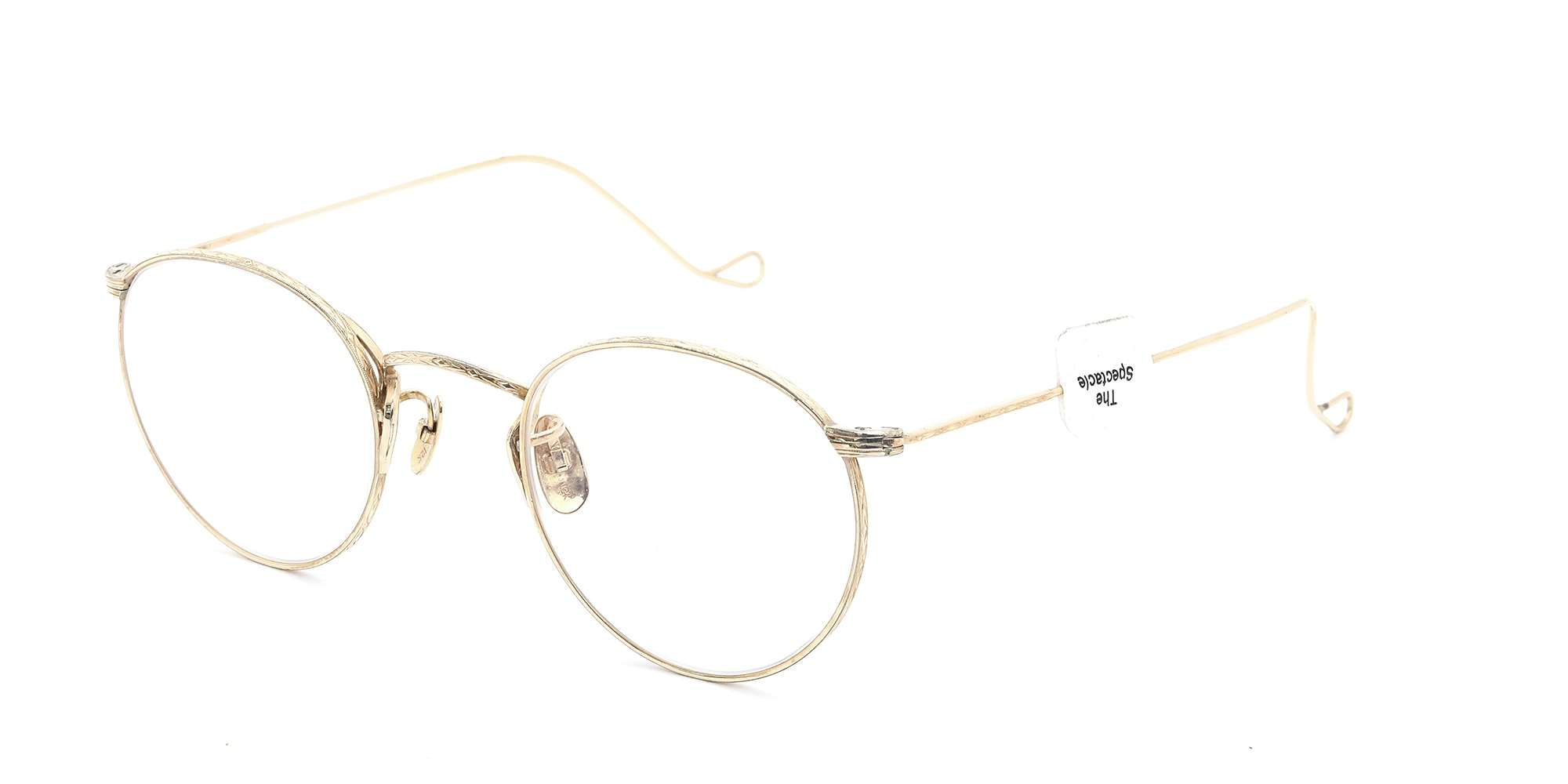 The Spectacle メガネ 1937 Artcraft Optical The-Artbit NOKOROD P-6 G 12kPads 46-22 イメージ2